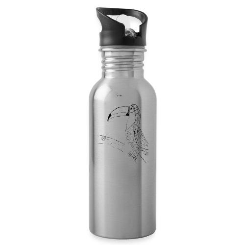 Stephen's hand drawn Toucan - Water Bottle