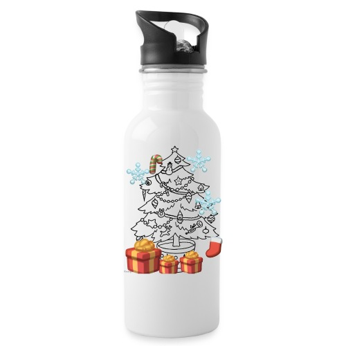Christmas is here!! - Water Bottle