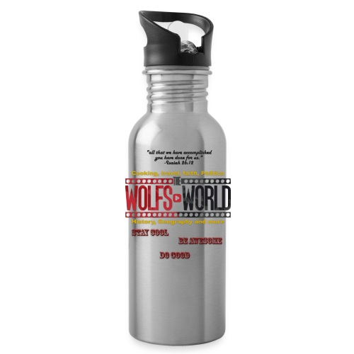 TheWolfsWorld Merch - Water Bottle