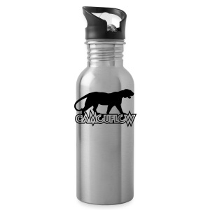 Camouflow Panther Logo - Water Bottle