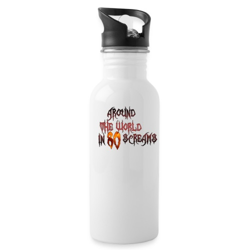 Around The World in 80 Screams - Water Bottle