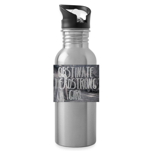 Obstinate Headstrong Girl - Water Bottle