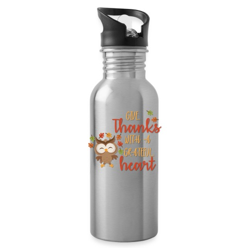 Give Thanks - Water Bottle