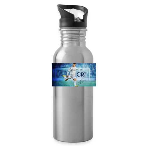 Real Madrid star Cristiano Ronaldo will open his C - Water Bottle