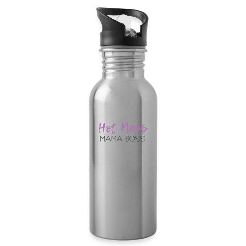 Hot Mess Mama Boss - Water Bottle