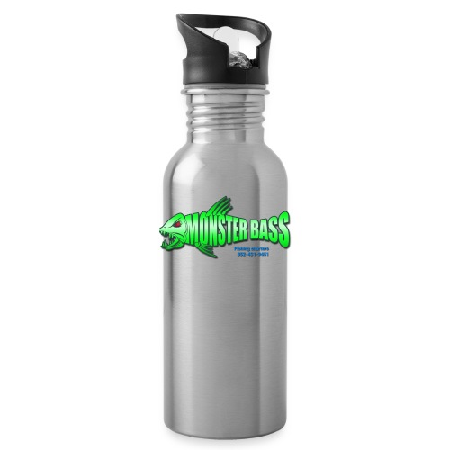 Monster bass fishing charters - Water Bottle