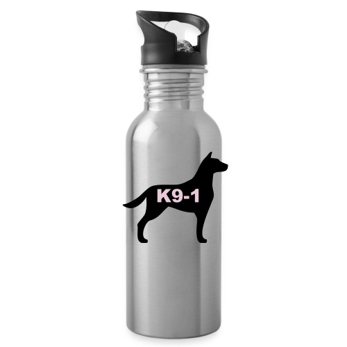 k9-1 Logo Large - Water Bottle