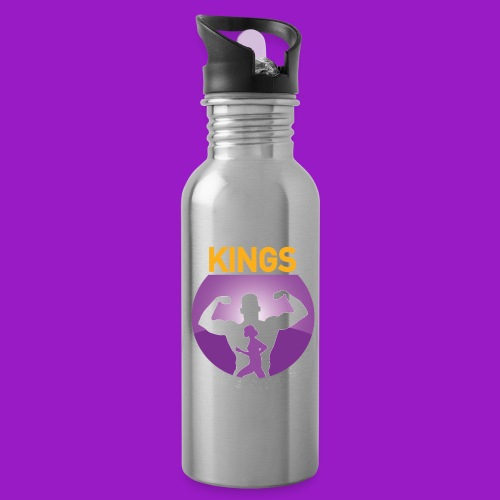 kings gym - Water Bottle