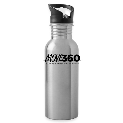 Move360_Logo_BW - Water Bottle