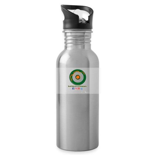 David Doyle Arts & Photography Logo - Water Bottle