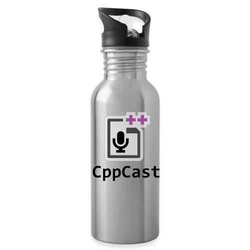 ShirtLogo black png - Water Bottle