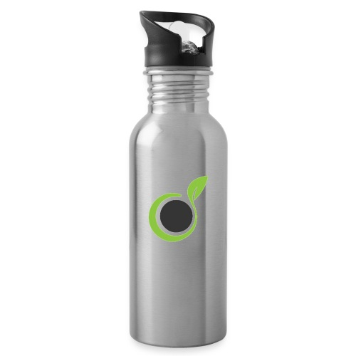 The Grass Gets Greener Logo - Water Bottle