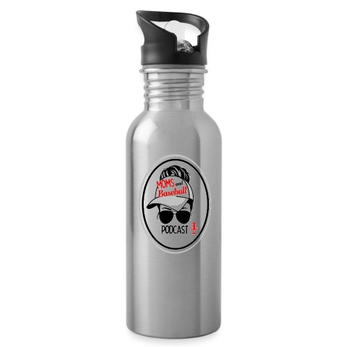 Moms and Baseball - Water Bottle