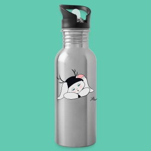 Sleepy Jackalope Annette - Water Bottle