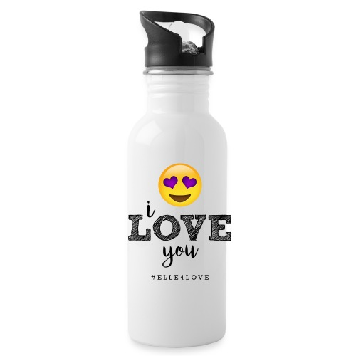 I LOVE you - Water Bottle