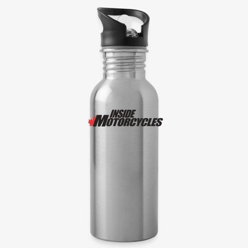 Inside Motorcycles Logo - Black - Water Bottle