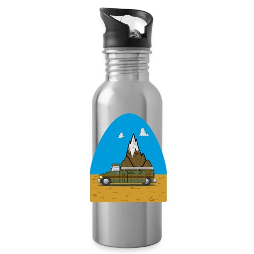 faith moves mountains 2018 - Water Bottle