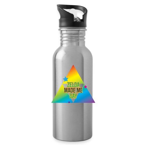 Zelda Made Me Gay - Water Bottle