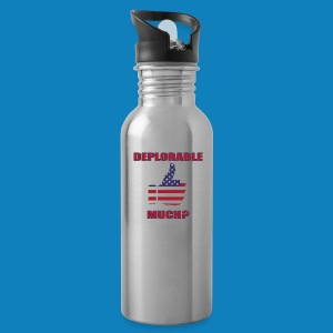 Deplorable Much? - Water Bottle