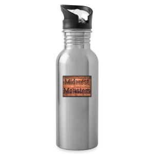 Midwest Monsters Wood Logo - Water Bottle