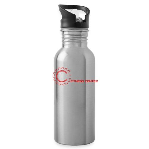 Driven Fitness Horizontal Logo - Water Bottle