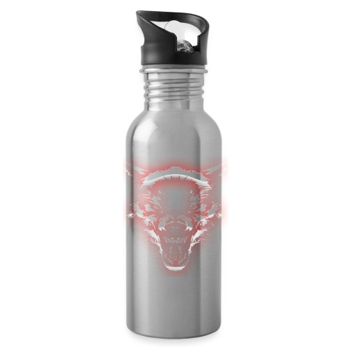 Angry Wolf - Water Bottle