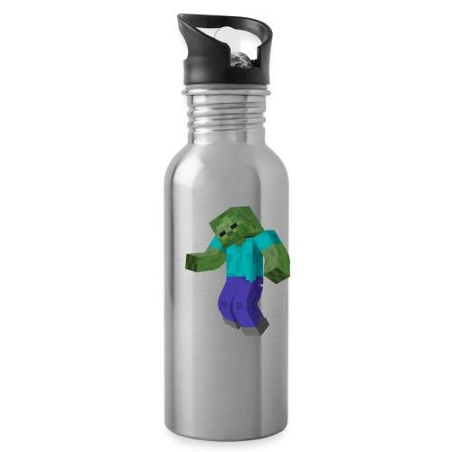 Mine-craft animation to go - Water Bottle