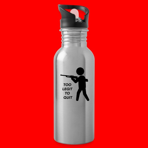 OxyGang: Too Legit To Quit Products - Water Bottle