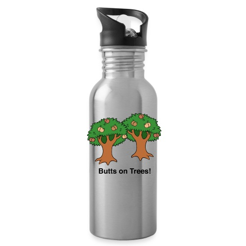 Butts on Trees! - Water Bottle