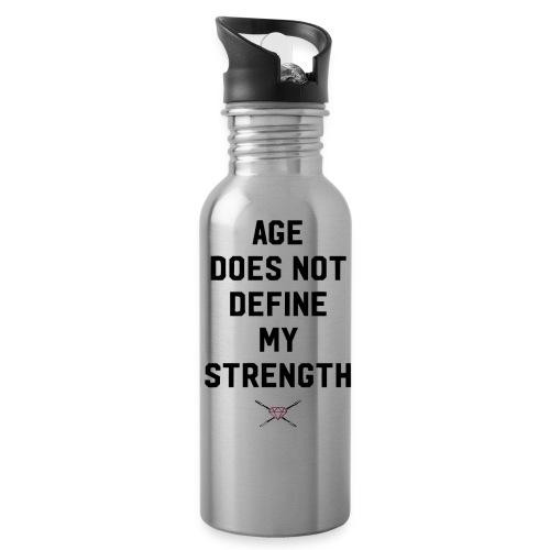 age strength black - Water Bottle