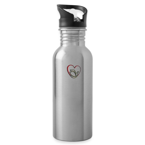Love and Pureness of a Dove - Water Bottle