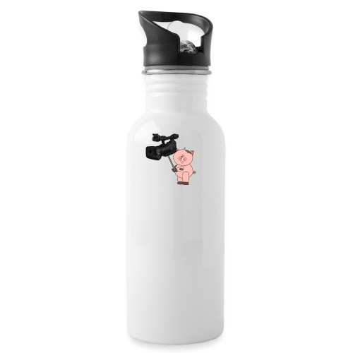 Hammie holding camera - Water Bottle
