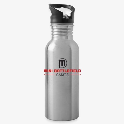 Mini Battlefield Games Logo - Water Bottle