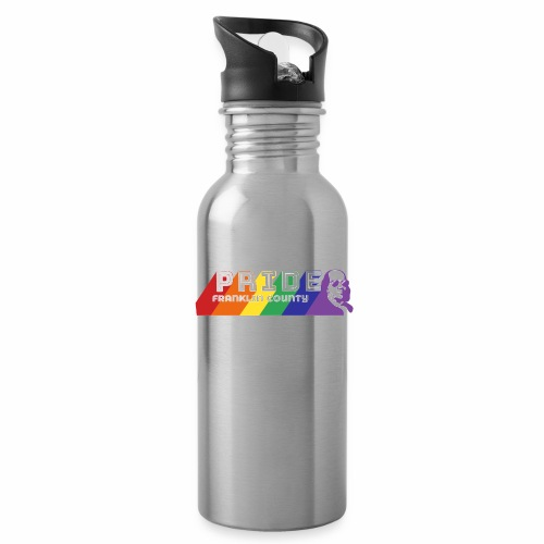 Pride Logo2 - Water Bottle