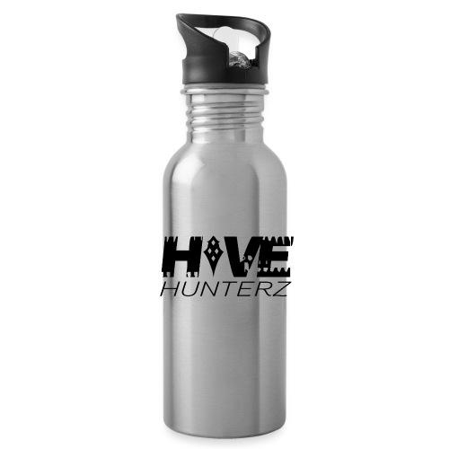 Hive Hunterz Black Logo - Water Bottle