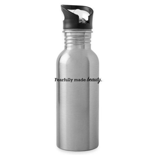 fearfully made beauty - Water Bottle