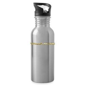 TROLLIEUNICORN gold text limited edition - Water Bottle
