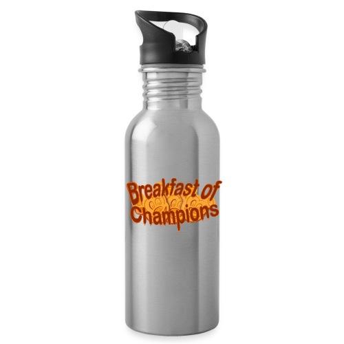 Breakfast of Champions - Water Bottle