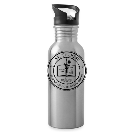 STS School Crest lineart png - Water Bottle