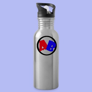 funda estilo logo del canal - Water Bottle