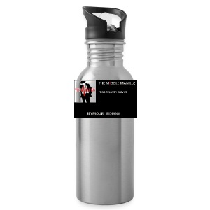 The Middle Man FDS Logo - Water Bottle