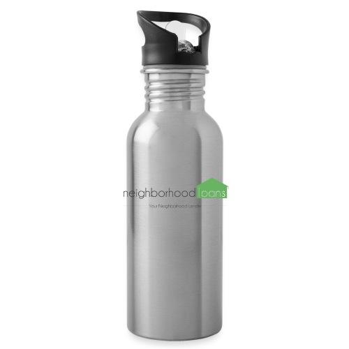 Neighborhood Loans White Items - Water Bottle