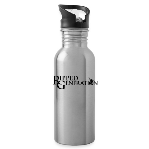 Ripped Generation Simple Logo - Water Bottle