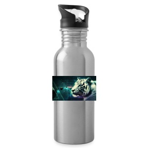 White_tiger - Water Bottle
