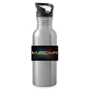 Music quote t-shirt - Water Bottle