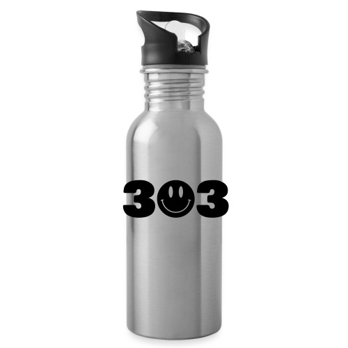3 Smiley 3 - Water Bottle