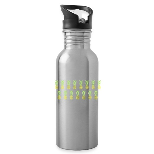Line pineapple - Water Bottle