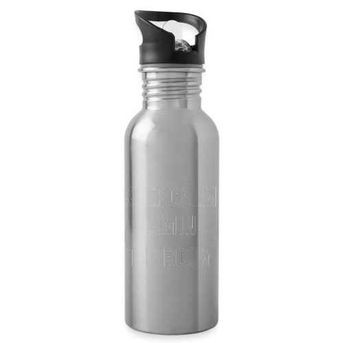 I'm here keep calm - Water Bottle