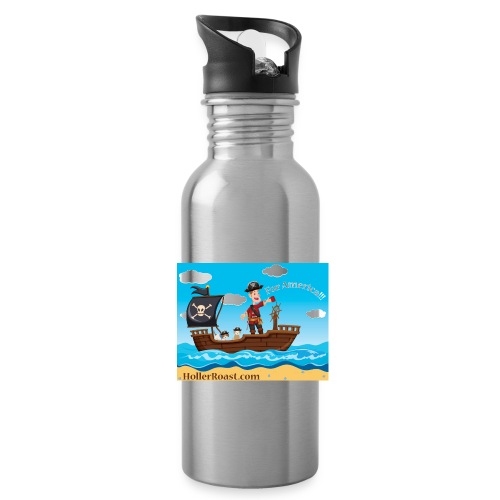 Holler Roast: For America! - Water Bottle