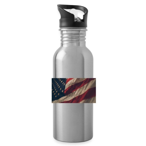 United States Flag - Water Bottle